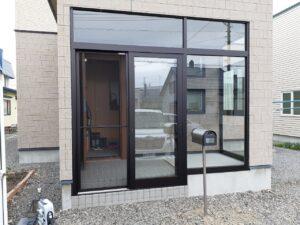 旭川市 Y様邸 玄関ドア・風除室リフォーム